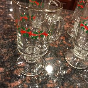 Set of 5 Holiday Glasses